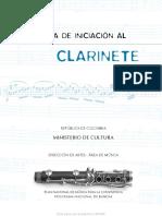Clarinete- Guia de Iniciacion Al Clarinete