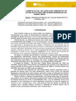 Verificação Do Direito Ao Sol Na Legislação Urbanística de Pelotas RS, Estudo Piloto Para Uma Área Residencial No Bairro Areal