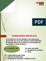 Corrosion Metalica