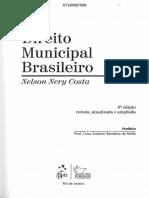 Direito Municipal Brasileiro 6ed