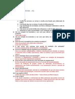 Questões Gerência de Ativos - P2