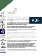 NAFTA REINS Letter