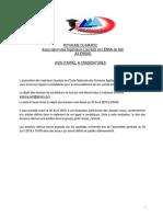 Avis Et Règlement d'Appel à Candidature - AILENSAS