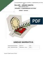 Modulo Español Grado 6 2017-1