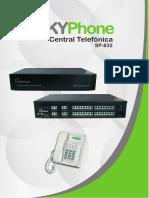 Brochure Central Telefonica Modelo SP-832