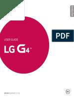 LG G4 Manual Guide English