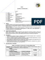 A Desarrollo Organizacional 2016 I