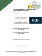 05 Informe Definitivo Activos Fijos Marzo 25