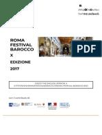 Roma Festival Barocco | X EDIZIONE 2017 | Concerti Musica Barocca