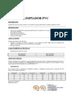 Limpiador Pvc
