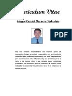 Curriculum Vitae Hugo Kazuki
