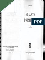 Boas Franz - El Arte Primitivo