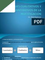 Enfoques Cualitativos y Cuantitativos de La Investigación