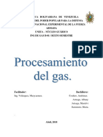 Procesamiento del Gas Natural