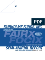 FairholmeFunds2010semi