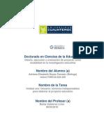 Glosario Planeacion Educativa