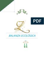 Balanza Ecologica Original
