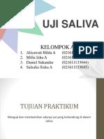 Biokim Prak - Uji Saliva