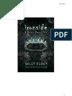 3- Ironside, A Modern Faery's Tale - Holly Black