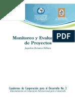 h. Monitoreo y Evaluacion Del Proyecto