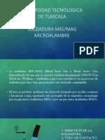 SOLDADURA MICROALAMBRE