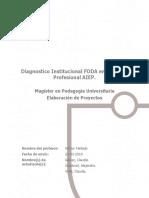 Analisis foda diagnostico institucional