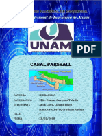 Informe Canal Parshall