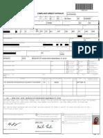 Complaint/Arrest affidavit