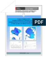 Caracterizacion Hidroclimatica, Cuencas Rio Coata e Ilave