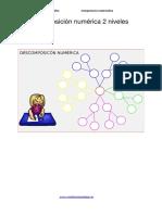 descomposición-numérica-dos-niveles-plantilla-editable