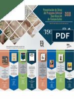 Presentaciones de libros en 39 FIL Minería