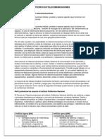 Descripción Del Técnico en Telecomunicaciones