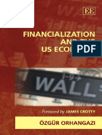 Ozgur Orhangazi - Financialization and the US Economy (New Directions in Modern Economics) (2008, Edward Elgar Pub)