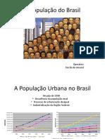 A População do Brasil