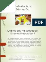 Criatividade Na Educação