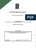 Informe Contaloría Yachay 2016