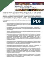 Declaración de Ixtlán_En defensa de la DBC