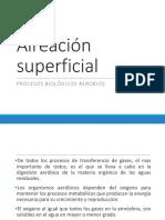 Aireación Superficial