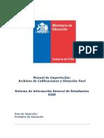 Manual de Importacion Archivos Actas