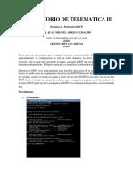 Laboratorio de Telematica III - Practica 4
