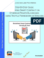 Developing Smart Contract on Ethereum Blockchain Using Truffle Framework