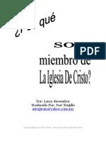 Leroy Brownlow - Por Que Ser Miembro de la Iglesia De Cristo.pdf