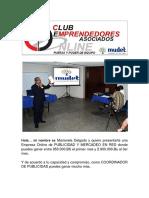 Coordinador de Publicidad Regional