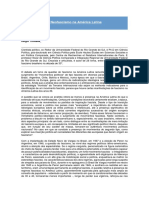 Fascismo e Neofascismo Na América Latina