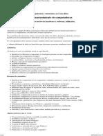 Cursos Reparación y Mantenimiento de Computadoras -Centro Nacional de Capacitación - CNC- Costa Rica
