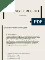 Transisi Demografi