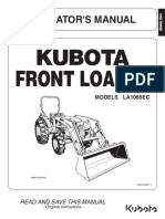 KUBOTA FRONT LOADER