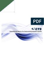 Essential QA Metrics