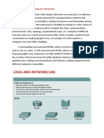 Different Types of Computer Networks