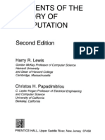 Lewis H.R., Papadimitriou C.H. Elements of the Theory of Computation (2ed., PH, 1998)(ISBN 013262478
